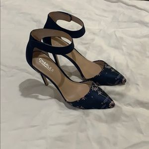 Charles by Charles David Pointer Two Piece Pumps